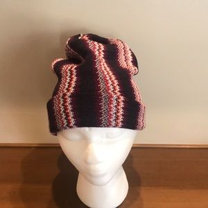 New with Tags Missoni Zigzag patterned Hat